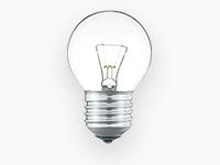 Лампы накаливания вольфрамовые декоративные шарообразные