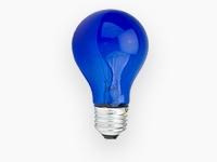 Лампы накаливания вольфрамовые синие